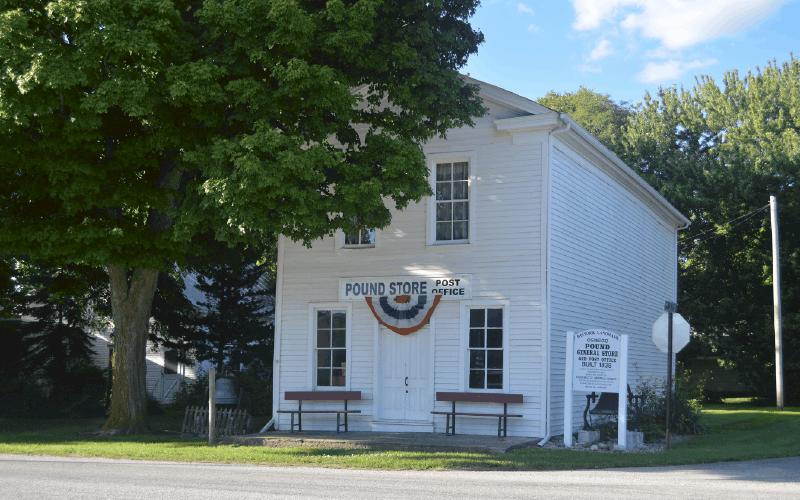 kosciusko county historical society_pound store